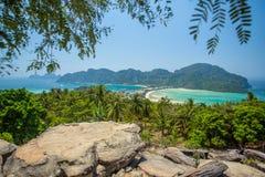 Phi-Phi eiland, Krabi-Provincie, Thailand Royalty-vrije Stock Foto's