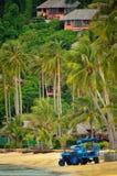 Phi phi eilanddorp stock foto