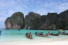 Phi-phi island Stock Photos