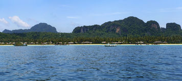 Phi Phi Island. A view of Phi Phi Don Island in Thailand stock photo