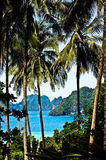 Phi phi island. View point of Phi phi island  thailand Stock Photos