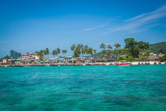 Phi phi island in andaman sea, Phuket, Krabi, Thailand Royalty Free Stock Photos