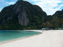 Phi phi island beach on thailand Royalty Free Stock Image