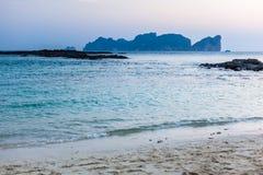 Phi Phi island dawn Royalty Free Stock Images