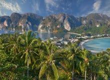 Phi-Phi island, Krabi Province, Thailand. Stock Photos