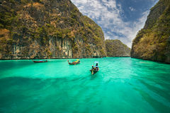 Phi-Phi island, Krabi Province, Thailand. Royalty Free Stock Photo