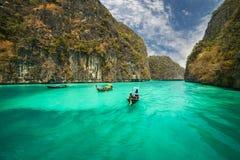 Phi-Phi island, Krabi Province, Thailand. Royalty Free Stock Photo