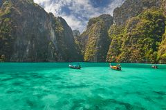Phi-Phi island, Krabi Province, Thailand. Royalty Free Stock Photography