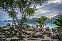 Phi-Phi island, Krabi Province, Thailand. View on tropical Phi Phi island, Krabi Province, Thailand Stock Images
