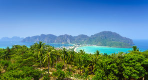 Phi phi island, Krabi, Southern of Thailand Royalty Free Stock Photos