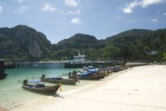 Phi phi island krabi Stock Photos
