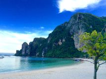 Phi phi island Stock Photo