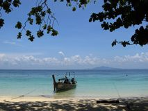 Phi phi island landscape Royalty Free Stock Photo
