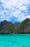 Phi Phi Island, one day trip Stock Photos
