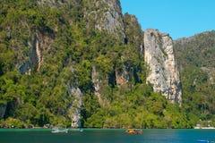 Phi Phi island in Thailand Stock Image