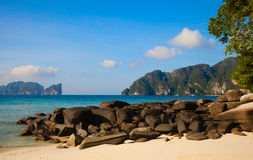 Phi phi island. Thailand Royalty Free Stock Images