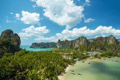 Phi-Phi island, Thailand Royalty Free Stock Images