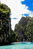 Phi Phi island in Thailand Royalty Free Stock Photo