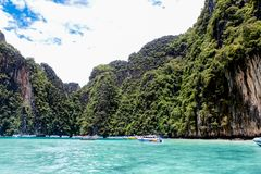 Phi Phi island in Thailand Royalty Free Stock Image