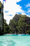 Phi Phi island in Thailand Royalty Free Stock Images