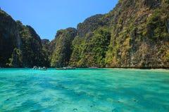 Phi Phi Island. View of Phi-Phi Island in Krabi, Thailand Royalty Free Stock Photos