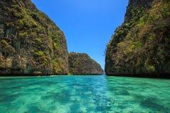 Phi Phi Island. View of Phi-Phi Island in Krabi, Thailand Stock Photo