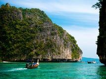 Phi Phi islands at Andaman sea Royalty Free Stock Photography