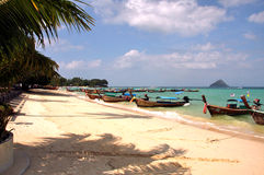 Phi Phi Islands - The Beach - Thailand Stock Photo