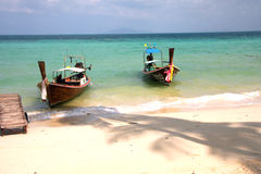 Phi Phi Islands - The Beach - Thailand Stock Photos