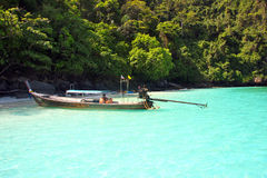Phi Phi Islands - The Beach - Thailand Royalty Free Stock Image