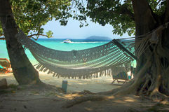 Phi Phi Islands - Hängematte - Thailand Stockbild