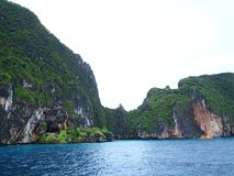 The Phi Phi Islands in Krabi Thailand Royalty Free Stock Photos