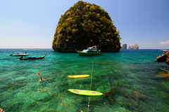 Phi Phi islands. Krabi. Thailand Stock Photos