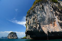 Phi Phi islands. Krabi. Thailand Stock Photos