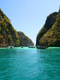 Phi Phi islands. Krabi. Thailand Stock Photography