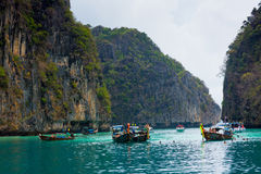 PHI PHI ISLANDS, THAILAND Royalty Free Stock Photos