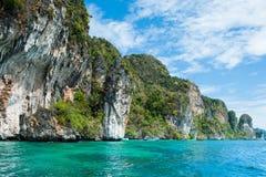 Phi-phi Laguna Photos stock