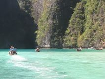 Phi Phi Lee Lagoon, Thailand stock footage