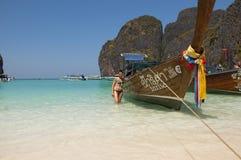 Phi Phi Leh ö Thailand Fotografering för Bildbyråer