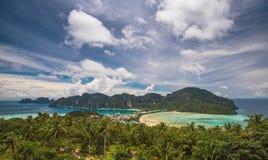 Phi Phi, Phuket, Thaïlande Photo libre de droits