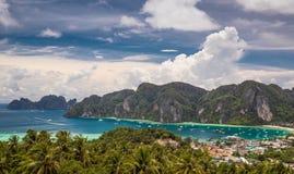 Phi-Phi Phuket, Thailand arkivbilder