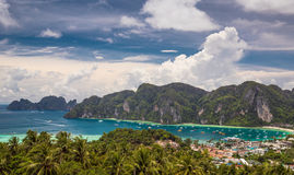 Phi-Phi, Phuket, Thailand Stock Afbeeldingen