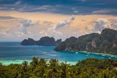 Phi Phi Phuket, Thailand Royaltyfria Foton