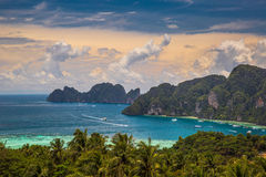 Phi Phi, Phuket, Thailand. Travel. Phi Phi - tropical island, Phuket,  Thailand Royalty Free Stock Photos