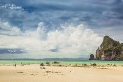 Phi Phi, Phuket, Thailand. Travel. Phi Phi - tropical island, Phuket,  Thailand Royalty Free Stock Image