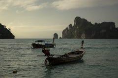 Phi Phi, Thailand. The Phi Phi island, sunset, Thailand Stock Photo