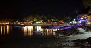 Phi Phi, Thailand at Night Stock Image