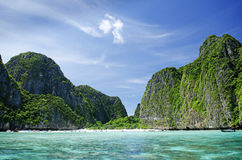 Phi phi tropical paradise islands in thailand Royalty Free Stock Photos
