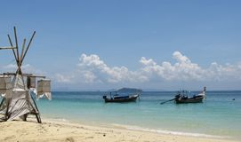 Phi Phi wyspy krajobraz Zdjęcie Stock