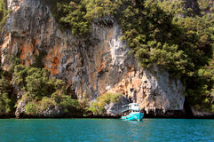 Phi Phi wyspy Tajlandia - plaża - Fotografia Stock
